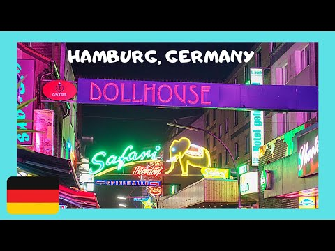 HAMBURG, EXPLORING the famous RED LIGHT DISTRICT, Germany