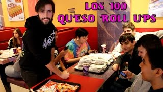 LOS 100 QUESO ROLL UPS tacobell