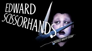 EDWARD SCISSORHANDS Makeup + Costume Tutorial
