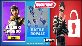 FORTNITE HACKED E SALVE OR WORLD WILL FINALLY?