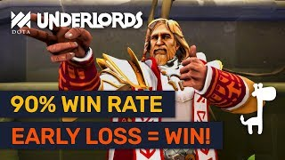 90% WIN RATE! Advanced Losing Streak Knights! | Dota Underlords