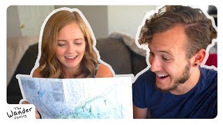RV LIFE: Road Route Announcement! Where we are going! | The Wander Family