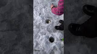 Зимняя рыбалка в капчагае