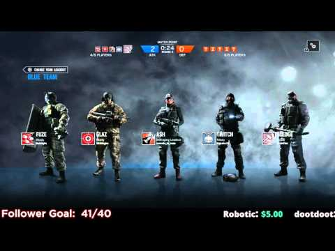 Rainbow Six Siege Tactical Squad Gameplay PC - 1 / 2