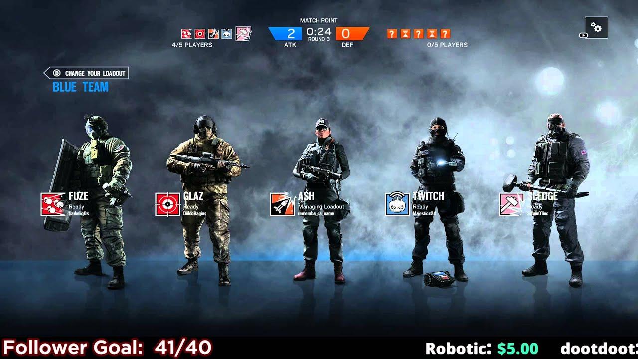 Titan Fall 2 Hd Wallpaper Rainbow Six Siege Tactical Squad Gameplay Pc 1 2 Youtube