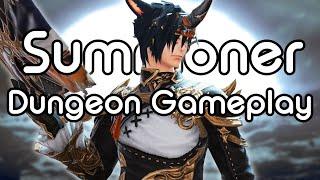 Summoner Dungeon Gameplay | FFXIV Endwalker Media Tour