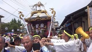 平成29年 海老名市門沢橋 澁谷神社例大祭 神輿発輿