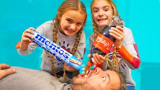 Llenamos la boca de Luis con Cola & mentos!! Itarte Vlogs