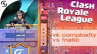 SK VS COMPLEXITY & FNATIC | CRL WEST FALL 19 W3 | HIGHLIGHTS