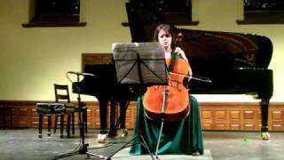 Chris Paul Harman Sonata for Solo Cello played by Elinor Frey