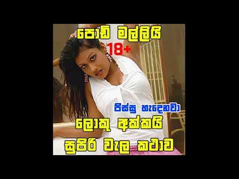 😜akkagen mallita wal call ekak 😱😱 (Sinhala kunuharupa call. Sinhala wela katha)