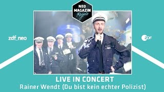 """Jan Böhmermann – """"Rainer Wendt (Du bist kein echter Polizist)"""""""