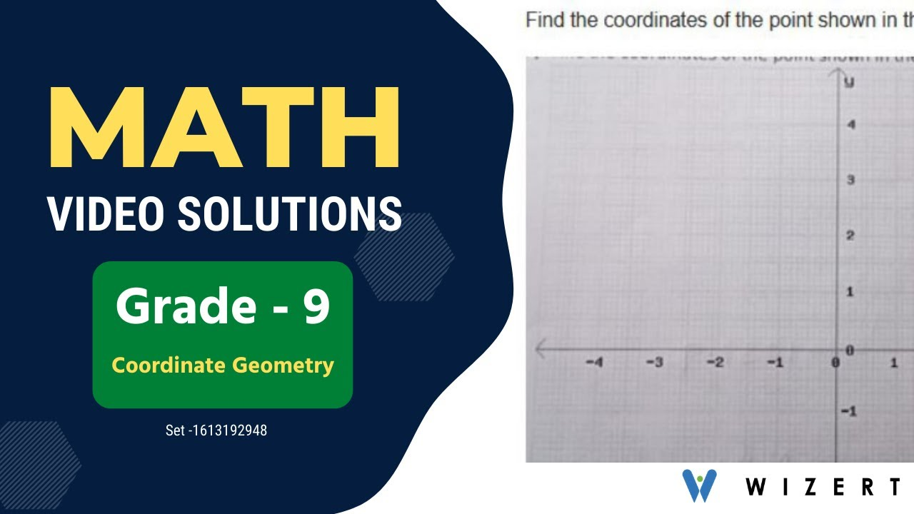 small resolution of Maths Coordinate Geometry problems for Grade 9 with answers - Set  1613192948 - YouTube