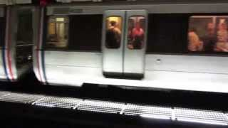Wednesday, 6 October 2014 WMATA Red Line Trains @ Gallery Place Station / Washington DC