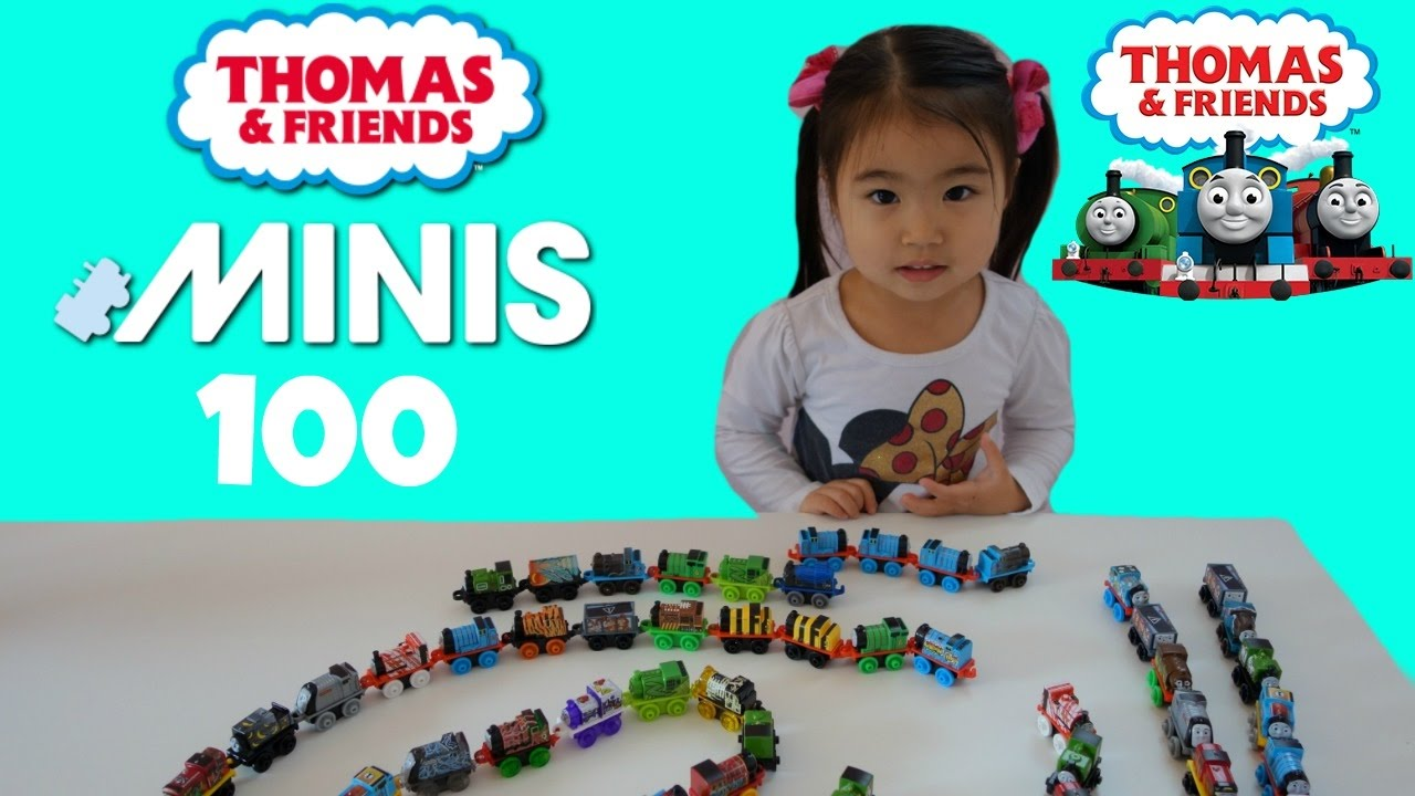 100 Thomas and Friends Mini Thomas The Tank ~ Sophie's Play Day