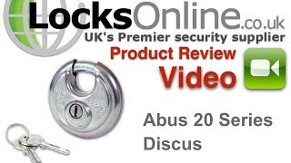 Abus Diskus Padlock and Hasp and Staple   LocksOnline Product Reviews(http://www.locksonline.co.uk/acatalog/Abus-140---120-Single-Link-Hasp.html ..., 2014-04-28T21:08:10.000Z)