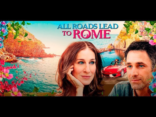 ALL ROADS LEAD TO ROME, Sarah Jessica Parkerin uutuuselokuvasta!