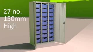 High Capacity Storage Cupboard
