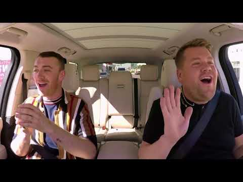 James Cordens' best harmonies // Carpool Karaoke w/ Sam Smith // 2017