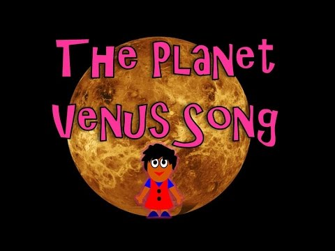 The Planet Venus Song | Planet Songs for Children | Venus Song for Kids | Silly School Songs