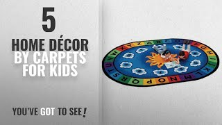 Top 10 Home Décor By Carpets For Kids [ Winter 2018 ]: Carpets for Kids 9445 Literacy Sunny Day