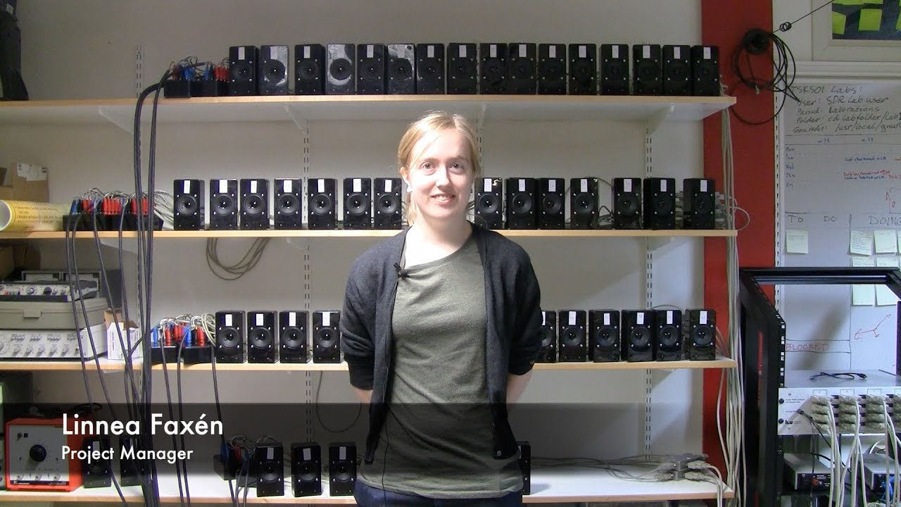 Massive Audio Beamforming (TSKS05 Project, 2016)