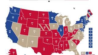 Tina Smith vs Donald Trump | 2020 Election Prediction