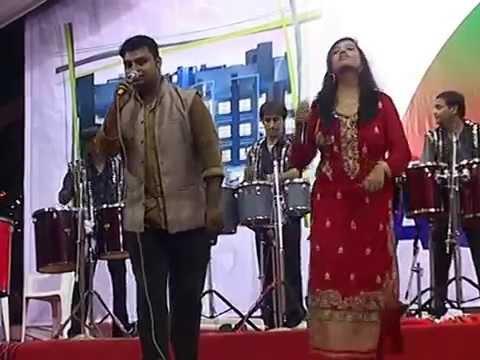 Live Gujarati Garba 2014 - Navratri - Dimple Pancholi Part - 3