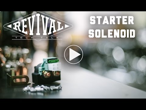 Starter Solenoid - Revival Cycles' Tech Talk (Link to new Solenoid Kit in the description)