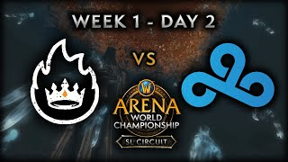 OTK vs Cloud9 | Week 1 - Day 2 | AWC SL Circuit