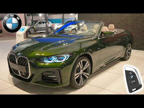 The All New 2021 BMW 420i Convertible : Visual Car Review
