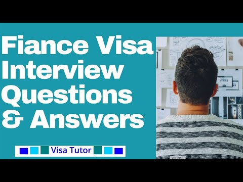 k1 visa interview questions - Isken kaptanband co