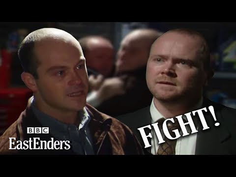 Phil and Grant Mitchell fist fight - EastEnders - BBC