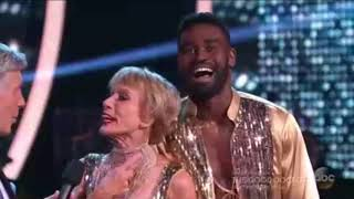 (HD) Barbara Corcoran and Keo Motsepe Salsa - Dancing With the Stars Premiere