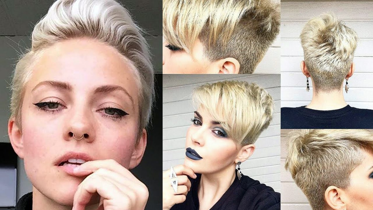 WOMEN SHORT HAIRCUT MAKEOVER u0026 SHORT WOMEN