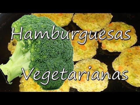 HAMBURGUESAS VEGETARIANAS/ VEGETARIAN BURGER