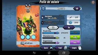 Mutants: Genetic Gladiators Breeding video N°515 (Megastral - Alien # Bronzo - Bronze)