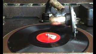 Enrico Caruso - La donna e mobile - on 78 rpm gramophone record His Masters Voice