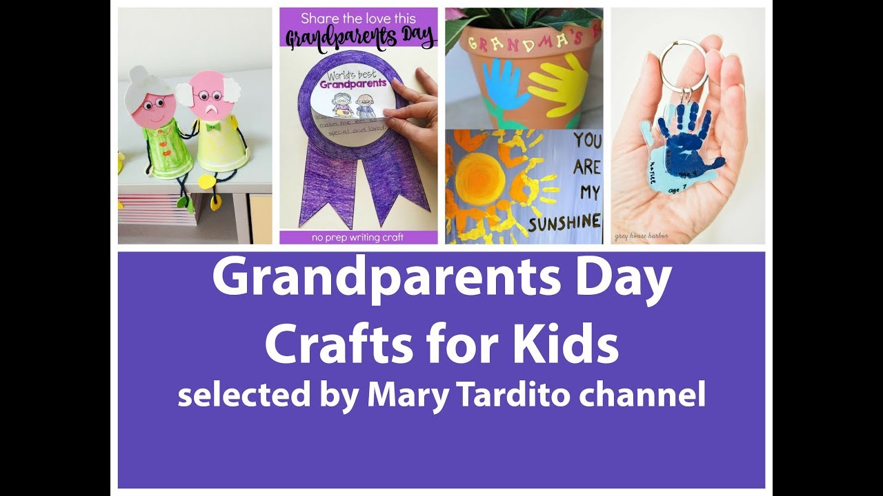 Grandparents Day Craft Ideas For Kids Part - 37: Easy Grandparents Day Crafts For Kids - Best Ideas Of Grandparents Day Gifts