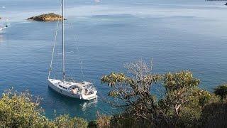 Путешествие на яхте Hanse 445 к острову Клеопатры