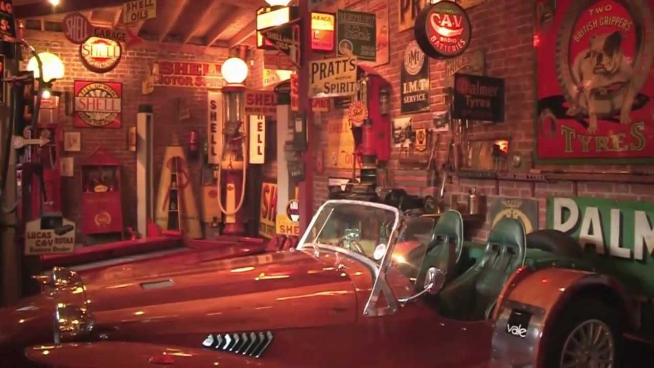 Petroliana Garage Tour Youtube