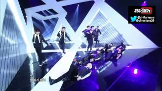 Super Junior - Sexy, Free & Single (Comeback Stage Live Mix Version)