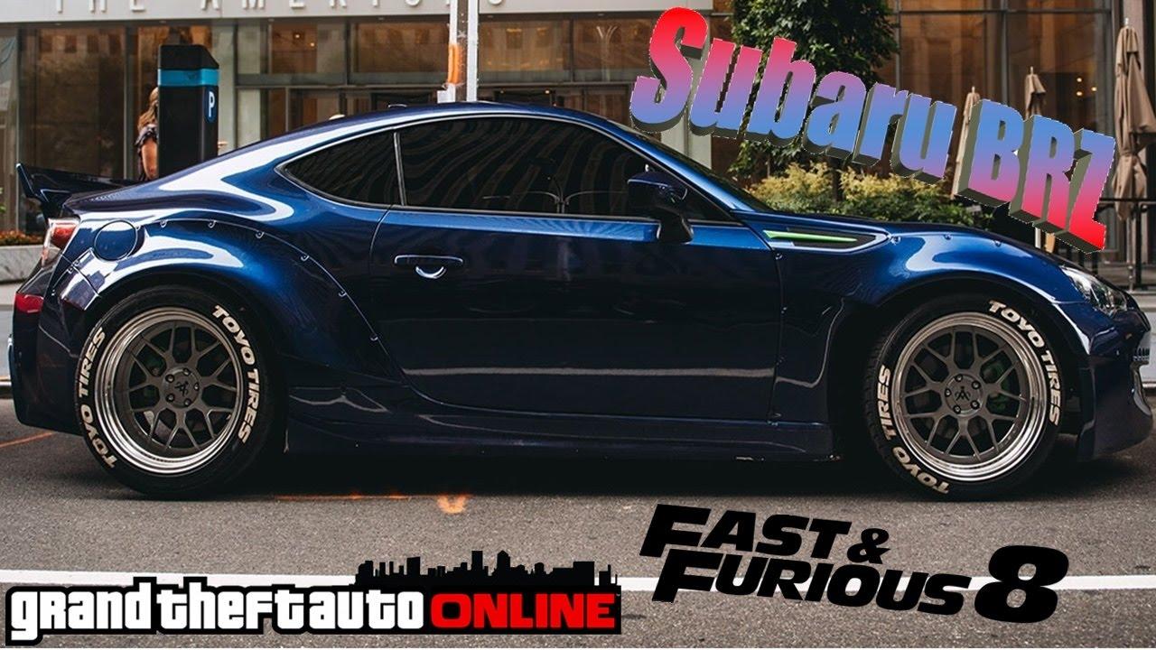 Subaru BRZ: Fast & Furious 8 | Tunagem (GTA Online) - YouTube