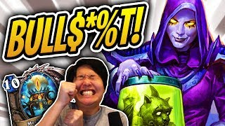 THIS IS BULL$*%T! 🐞 MORE BUGS? | Making Mecha'thun Great Again Priest | Rise of Shadows Hearthstone