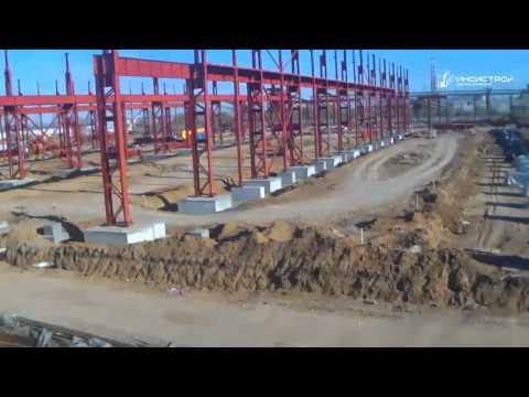 Завод по нанесению бетонного покрытия на газонефтепроводные трубы