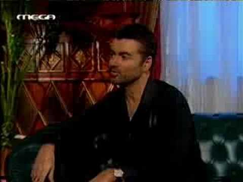George Michael interview at Greek TV,part A