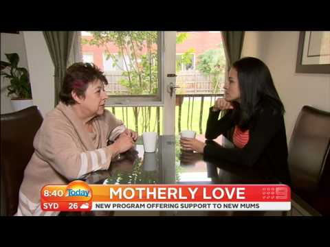 Caring Mums on the Today Show