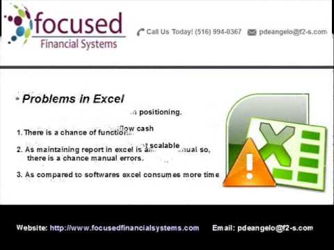 Using a fund management module or software