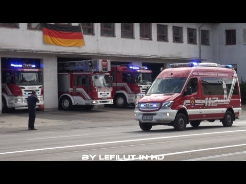 [ALARMGONG + RESERVE-DLK] ELW TE + Löschzug BF + RTW DRK Darmstadt