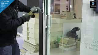 Technal Lumeal XXL Minimal Sliding with RC3 Compliance for Burglar Resistance
